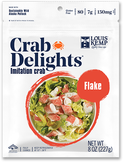 Louis Kemp Crab Delights Flake Style