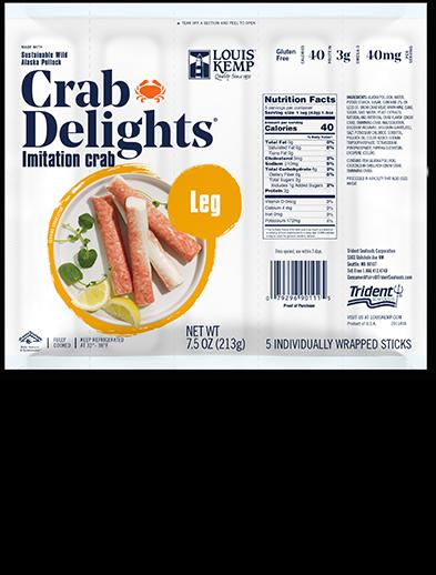 Louis Kemp Crab Delights Leg Style Individual
