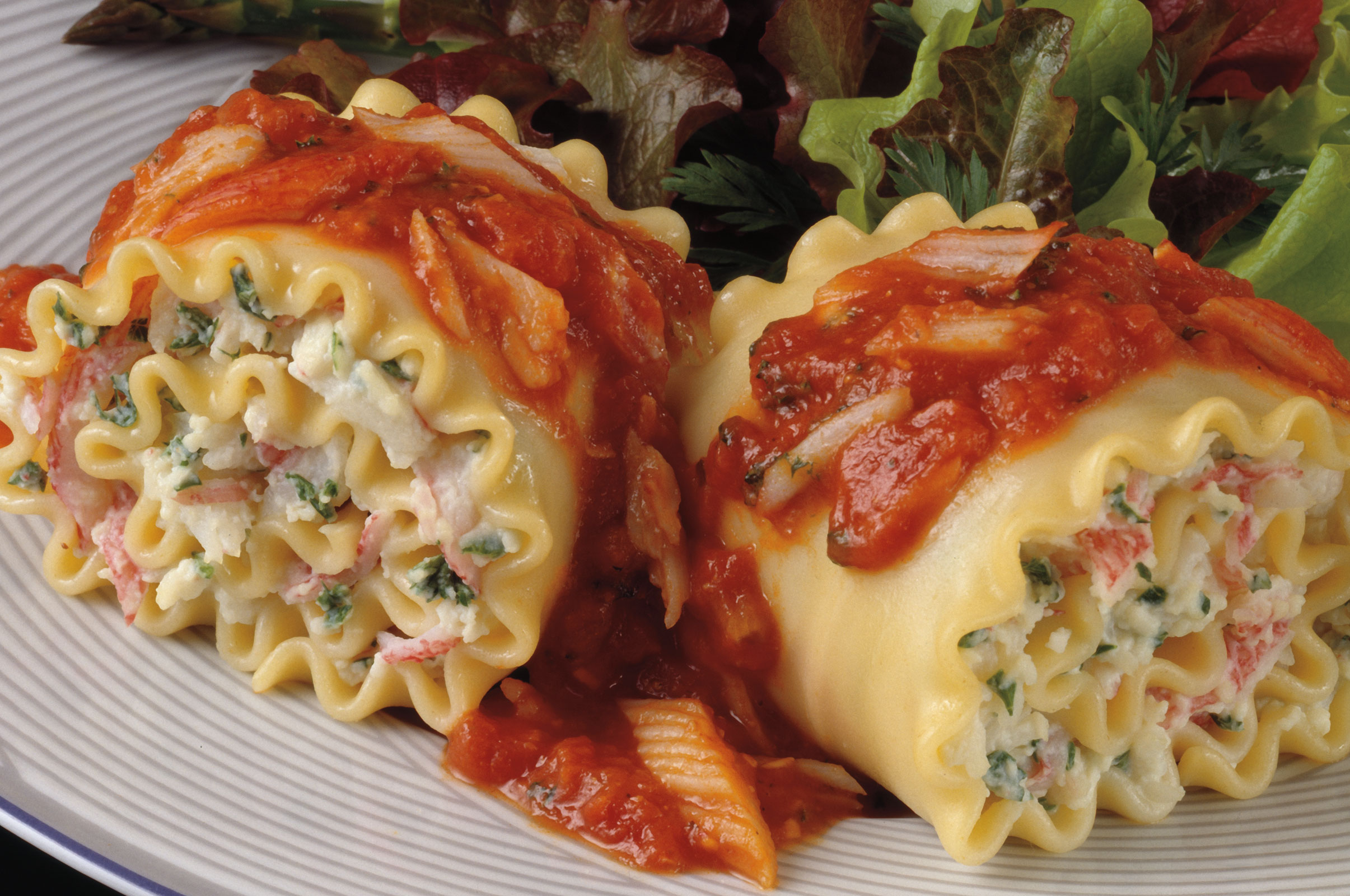 Seafood Lasagna Roll Ups Recipes Louis Kemp