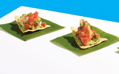Seafood Vichi Nacho Dip