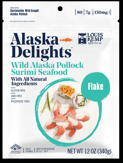 Louis Kemp Alaska Delights Flake Style