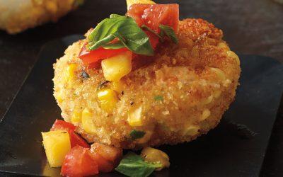 Corn & Seafood Cakes