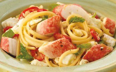 Seafood Linguine 1-2-3