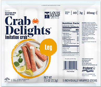 Louis Kemp Crab Delights 5 Pack Legs