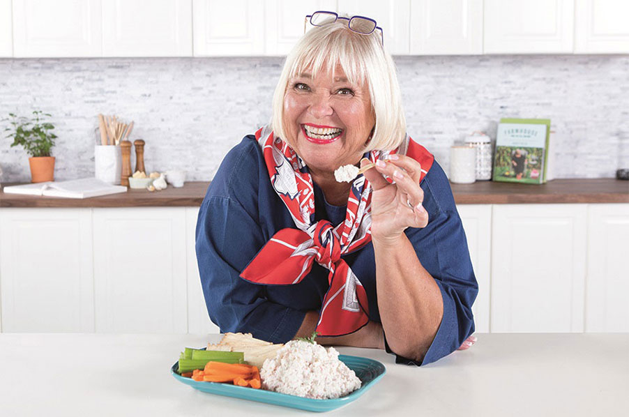 Nancy Fuller's Easy Breezy Dip made with Louis Kemp Drab Delights