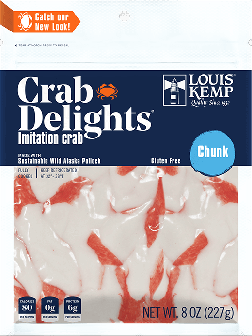 Louis Kemp Crab Delights Chunk Style