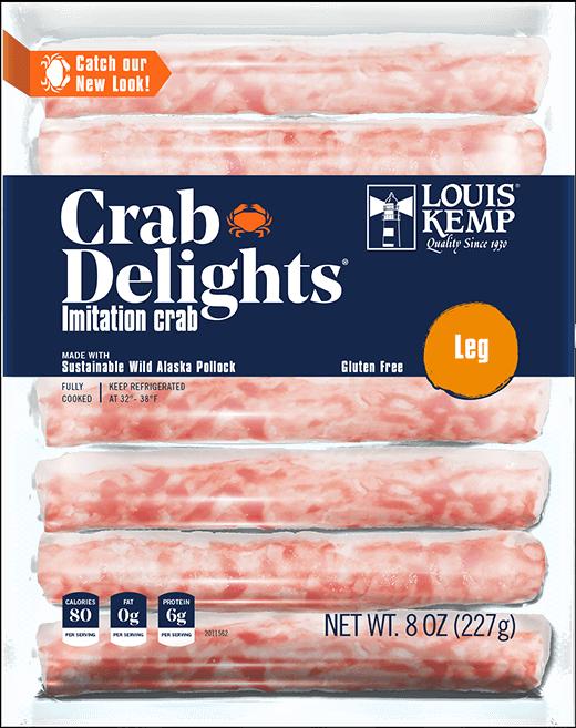 Louis Kemp Crab Delights Leg Style